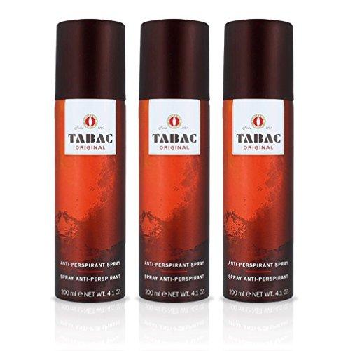 Tabac Original Deodorant, Anti-Transpirant, 200ml, 3Stück