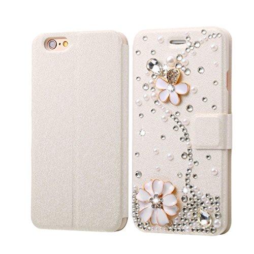 Phone case & Hülle Für iPhone 6 / 6s, Diamond verkrustete Bling Crown Pattern Horizontale Flip Leder Tasche mit magnetischen Buckle & Card Slots ( SKU : IP6G1005E ) IP6G1005E
