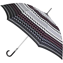 Paraguas Largo vogue con Original Estampado geométrico.
