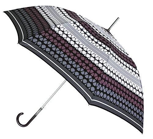 Paraguas Largo de señora de la Marca VOGUE. Original y Elegante Estampado geométrico. Paraguas...