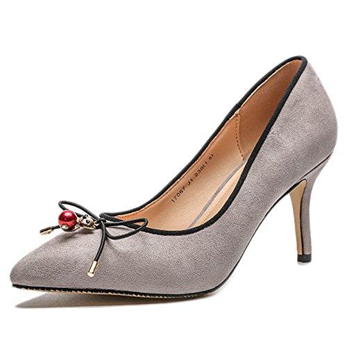 cy Damenschuhe Bow Spitzschuh High Heels Light Stiletto Pumps Pumps Hof Schuhe...