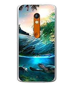 Digiarts Designer Back Case Cover for Motorola Moto X Play (Nature Pet Widlife Cute Sweet)