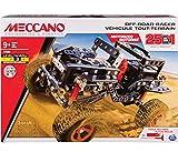 New Meccano MEC6037616 Off Road Racer C/MOTORE A Batt.25 in 1 MODELLINO Die CAST