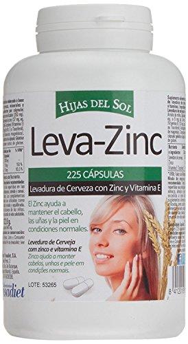 LEVA ZINC Complemento alimenticio de zinc, levadura de cerveza y vitamina E...