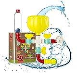 OleOletOy Badespielzeug für Baby ab 1 Jahr, Kinder Badewannenspielzeug mit Saugnapf, BPA Frei Montage Spielzeug Wasserspiel in der Badewanne