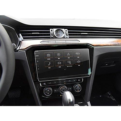 LFOTPP VW Volkswagen Passat GTE Variant Alltrack 9,2 pulgadas Navegación Protector de pantalla - 9H Cristal Vidrio Templado GPS Navi película protegida Glass