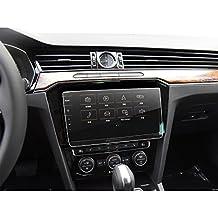 LFOTPP Volkswagen VW Passat B8 GTE Variant Alltrack 9,2 Pollici Navigazione Pellicola Protettiva in Vetro Temperato Screen Protector Film - 9H Antigraffio HD Alta Trasparente