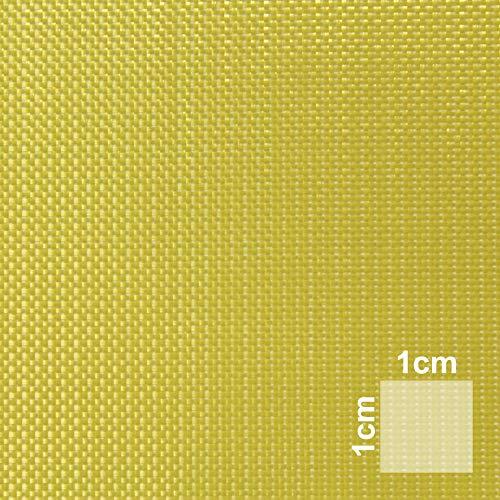 Aramidgewebe 2m² | Hochwertiges Aramidfaser-Gewebe | Sandwichbau, Modellbau, Flugzeugbau, Bootsbau | Hochfestes Material in Kombination mit Epoxidharzen | HP-P60A -