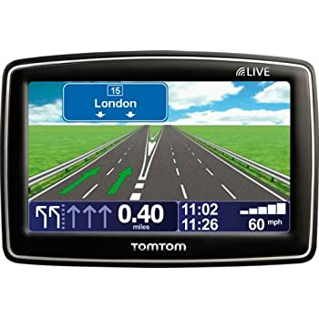 TomTom XL LIVE IQ Routes Edition Europe Satellite Navigation System
