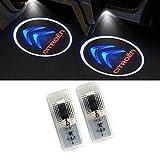 LIKECAR 2 pcs lumières de Porte projecteur de Voiture Car LED Bienvenue Logo Voiture...