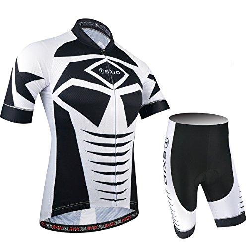 BXIO Colore Ciclismo Abbigliamento Uomo PRO Team Moto Maglie Media Mulit