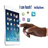 iEverest Unisex Touchscreen Handschuhe Anti-Rutsch-Handschuhe Lover Handschuhe dicke Handschuhe Smartphone Touchscreen Handschuhe für das Fahren und Telefonieren im Freien Winddicht