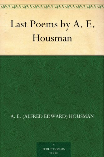 Last Poems by A. E. Housman, used for sale  Delivered anywhere in UK