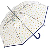 happy rain Long AC Clear - Clásico  transparente azul 99 cm