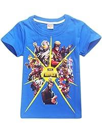 Leslady Unisex PVP Pullover T-Shirt per Niño Logo Game Icons Letras del Equipo Combat Commander Camiseta Impresa