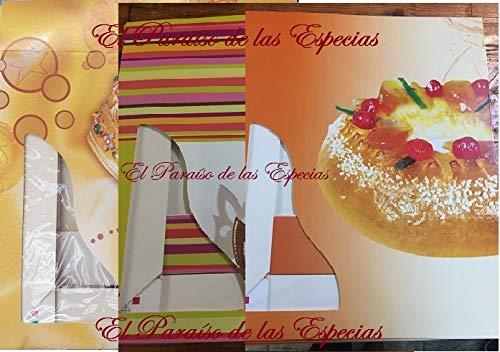 Extra Grande Caja Roscón Reyes 10 Unidades 40 cm