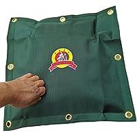 hyfan lienzo bolsa de pared para Wing Chun Kung Fu Capacitación de boxeo saco de boxeo Striking Bolsa de arena, moda, Verde (New Green)