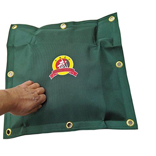 hyfan Leinwand Wand Tasche für Wing Chun Kung Fu Boxen Training Boxsack kräftigen Sand Tasche, New Green -