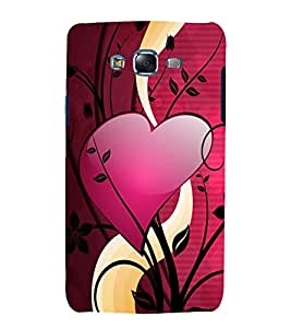 printtech Love Heart Design Back Case Cover for Samsung Galaxy Grand 2 G7102 / Samsung Galaxy Grand 2 G7106