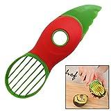 Neuester 3 in 1 Avocadoschneider mit Messer, Entkerner und Löffel. Küchenutensil für frische,...