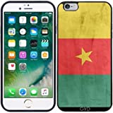 DesignedByIndependentArtists Coque Silicone pour Iphone 6/6S Plus - Drapeau Cameroun...