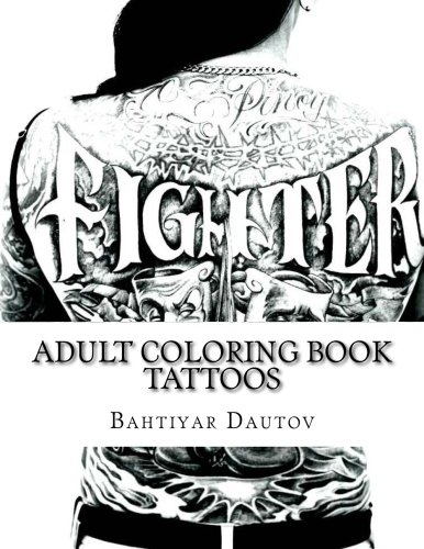 Adult Coloring Book Tattoos Gorgeous Pictures Of