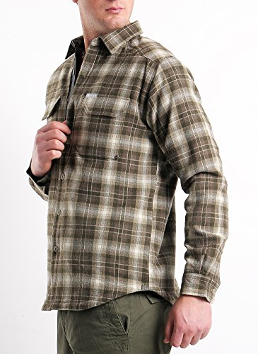 Windward TM Overshirt Columbia Chemise pour Homme Scacchi Beige