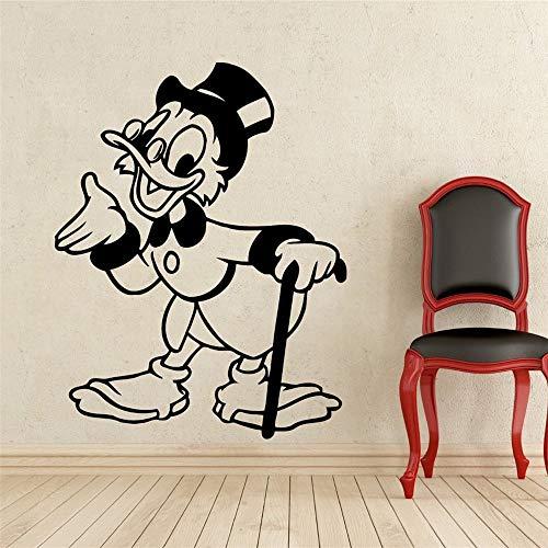 wandaufkleber 3d Wandtattoo Kinderzimmer Opa Donald Duck Kostüm Kids Name Baby für Kinderzimmer (Baby Opa Kostüm)