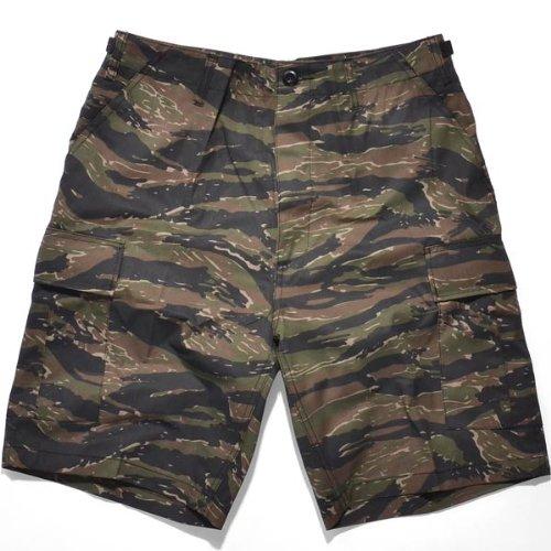 rothco BDU Rip Stop Combat Short tiger stripe camo -