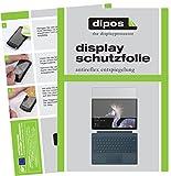 dipos I 2X Schutzfolie matt passend für Microsoft Surface Pro (2017) Folie Bildschirmschutzfolie