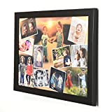 #10: AR Personalized Photo Frames Wall Collage ( Black, 12 x 18 ) : A-105AP