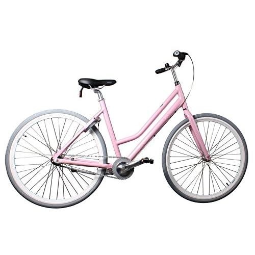 51o1IQl7r1L. SS500  - Azero 28 Inch 56 cm Woman 3SP Coaster Brake Pink