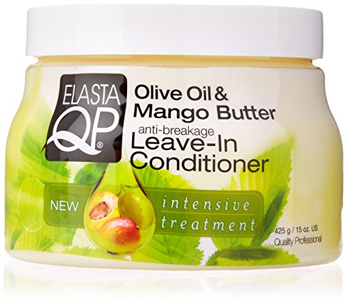Elasta QP Olive Oil Mango Butter Leave In Conditioner 15oz -