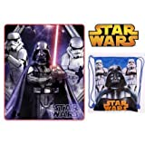Sports Et Loisirs Best Deals - Manta polar Star Wars con Darth Vader y bolsa flexible détente Loisirs Sport