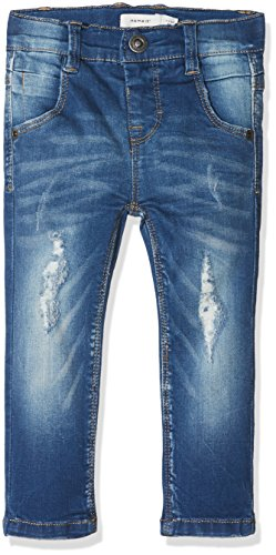 NAME IT Baby-Jungen Jeans Nmmtheo Dnmtate 2002 Pant Noos, Blau (Light Blue Denim), 80