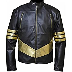 classyak Hombres de moda para parte superior calidad elegante chaqueta de Lobezno