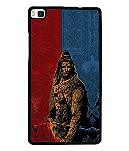 Huawei P8 Back Cover Lord Shiva Design From FUSON