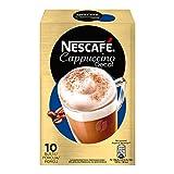 Nescafé Gold Cappuccino Decaf Preparato Solubile per Cappuccino Decaffeinato Astuccio 10 Bustine, 125 g
