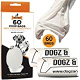Dogz & Dudez Biodegradable Dogs and Cats Poop/Waste Bags for Pets - Environment-Friendly Bags (Pack of One) - 2 Months Pack