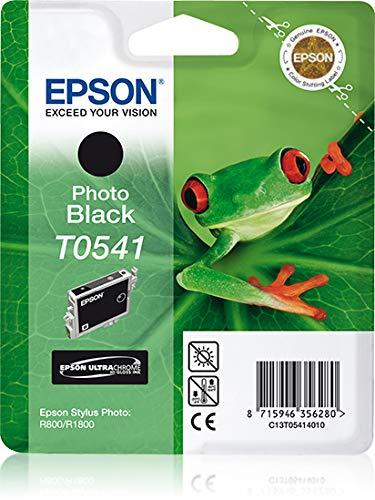 Epson t0541 tinte foto schwarz standardkapazität 13ml 550 seiten 1-pack blister ohne alarm