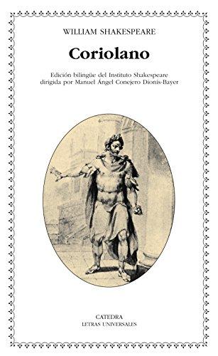 Coriolano (Letras Universales) por William Shakespeare