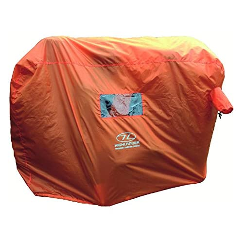 51o1PmD0JjL. SS500  - Highlander Outdoor Emergency Survival Shelter available in Orange - 4-5 Persons