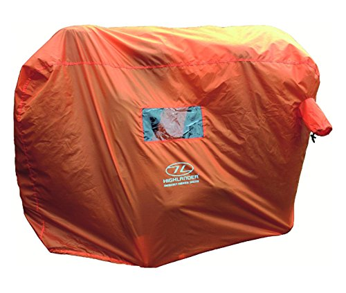 Highlander Outdoor Emergency Survival Shelter available in Orange – 4-5 Persons