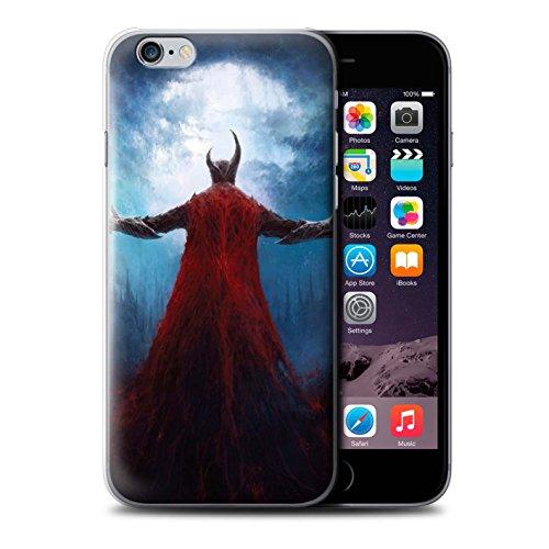 Offiziell Chris Cold Hülle / Case für Apple iPhone 6 / Kriegsheld/Warlock Muster / Dämonisches Tier Kollektion Dunkelste Stunde