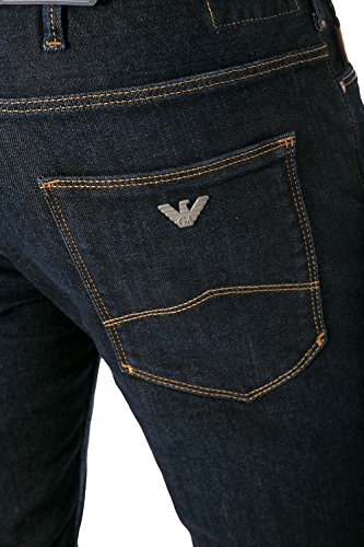 ARMANI JEANS - Jeans uomo slim fit 6x6j06 6d04z Denim scuro
