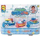 Carletto 52608231 - Barcos magnéticos para la bañera (3 unidades)