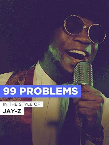 99 Problems im Stil von