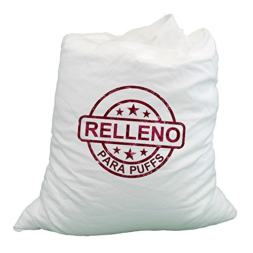 HAPPERS Relleno Puff - Relleno para Puffs XL. 330 litros de Perlas de poliestireno ESP Ignífugas