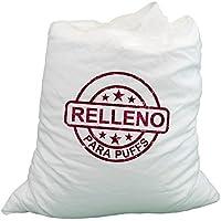HAPPERS Relleno Puff - Relleno para Puffs. 50 litros de Perlas de poliestireno ESP Ignífugas