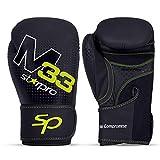 Starpro Boxhandschuhe Muay Thai Training Boxsack -Kickboxen, Sparring, Sandsack, Leder Punchinghandschuhe Mitts Boxing Gloves |8oz 10oz 12oz 14oz 16oz| Männer und Frauen |